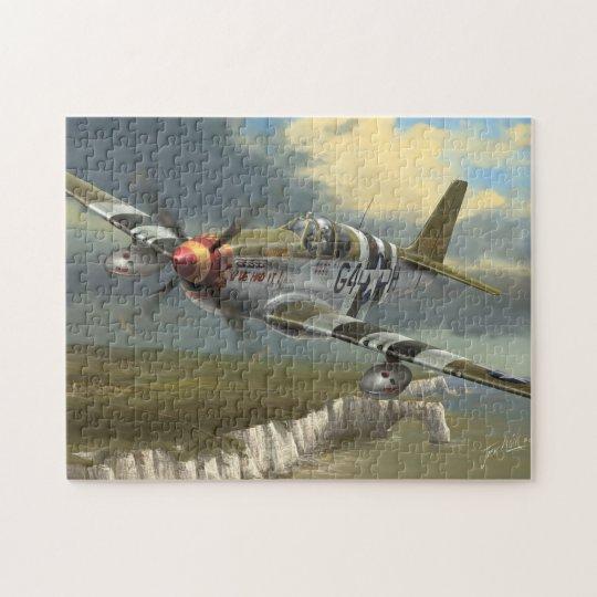 Flying Cadillac Jigsaw Puzzle