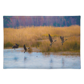 Flying Canadian Geese Placemat