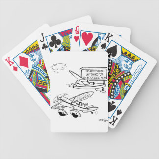 Flying Cartoon 3682 Bicycle Playing Cards