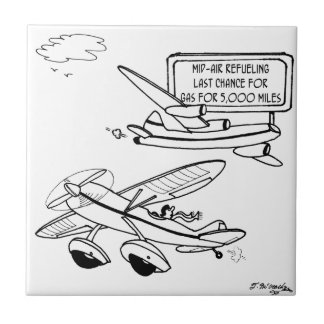 Flying Cartoon 3682 Ceramic Tile