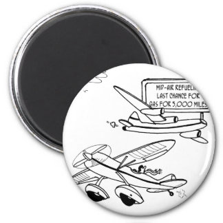 Flying Cartoon 3682 Magnet
