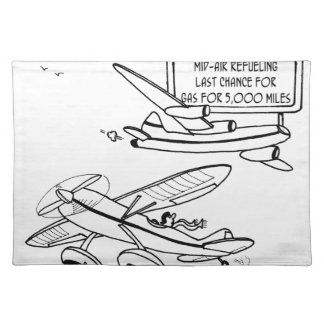 Flying Cartoon 3682 Placemat