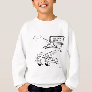 Flying Cartoon 3682 Sweatshirt