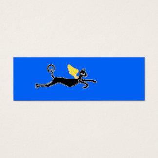 flying cat mini business card