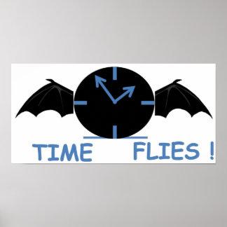 flying clock full poster