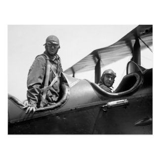 Flying Coach, 1920s Postcard