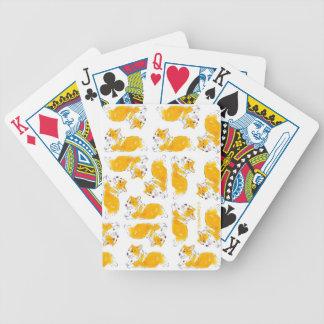 Flying Corgis Playing Cards