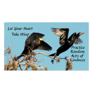 Flying Cormorants Random Acts of Kindness Card Pack Of Standard Business Cards
