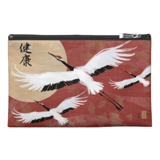 Flying Cranes Cosmetic Travel Bag Travel Accessory Bag