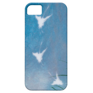 flying cranes iphone case