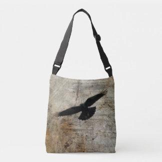 Flying Crow Crossbody Bag