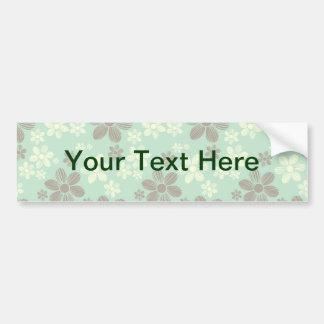 Flying daisies bumper sticker