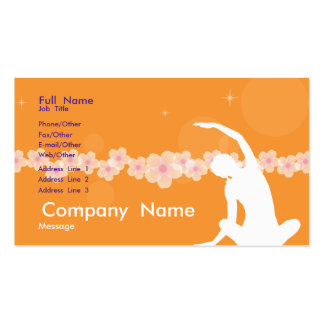 Flying Disc  Card Pack Of Standard Business Cards