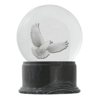 Flying Dove of Peace Snow Globe
