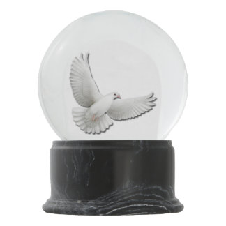 Flying Dove of Peace Snow Globe Snow Globes