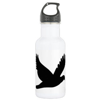 Flying Dove Silhouette 532 Ml Water Bottle