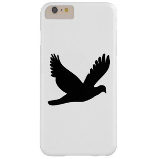 Flying Dove Silhouette Barely There iPhone 6 Plus Case