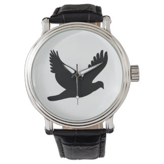 Flying Dove Silhouette Watch