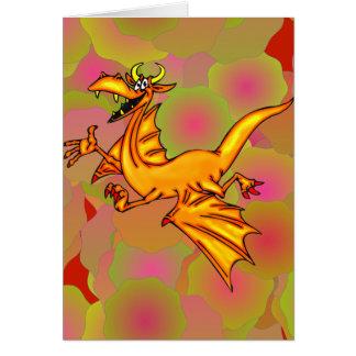 Flying Dragon Card