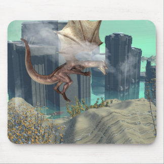 Flying dragon mouse pads