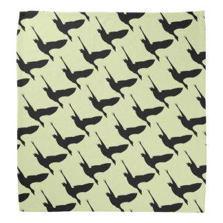 Flying Duck Patterned Bandana