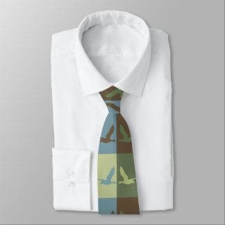 Flying Duck Pop Art Styled Tie