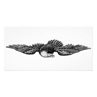 FLYING EAGLE CUSTOMIZED PHOTO CARD