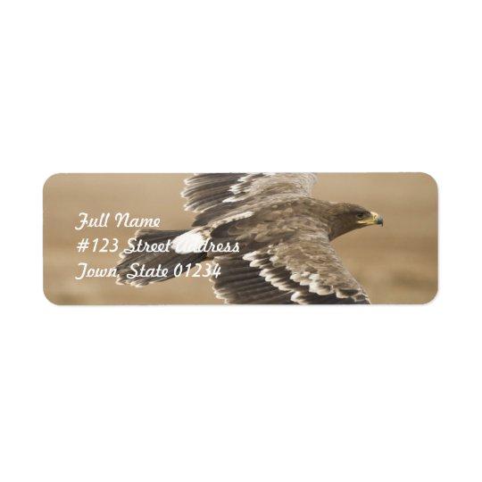 Flying Eagle Return Address Mailing Label