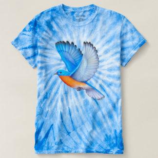 Flying Eastern Bluebird Tye Dye Shirt