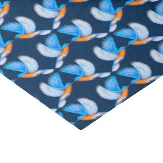 Flying Eastern Bluebirds Tissue Paper