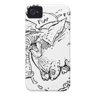 flying elephant iPhone 4 case