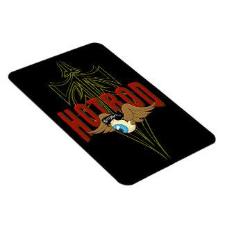 Flying Eyeball Hot Rod Vinyl Magnets