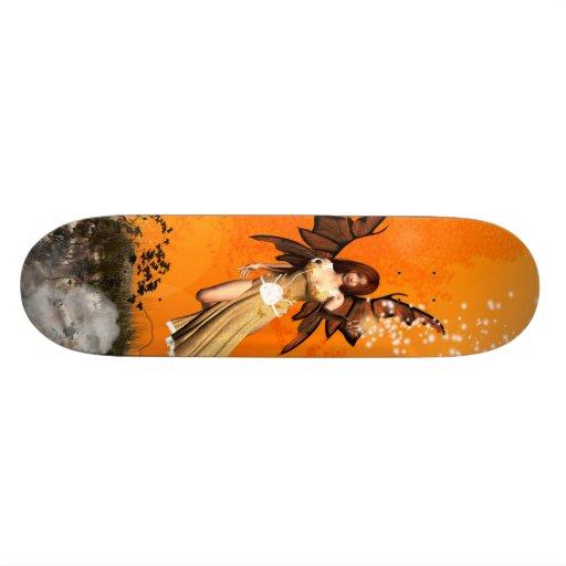 Flying fairy skate decks