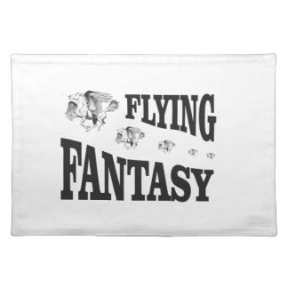 flying fantasy horse placemat