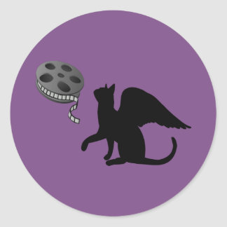 Flying Feline Films Logo Sticker