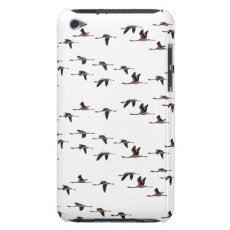 Flying Flamingos iPod Touch Case (choose colour)