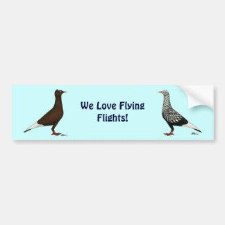 Flying Flight Cap Car Bumper Sticker