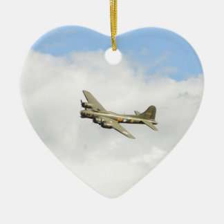 Flying Fortress Ceramic Ornament
