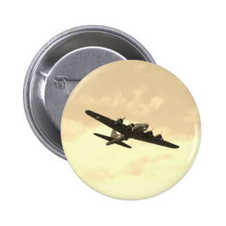Flying Fortress In Flight Button