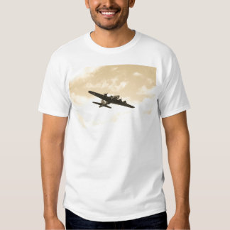 Flying Fortress In Flight Shirts