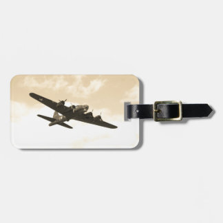 Flying Fortress In Flight Travel Bag Tags