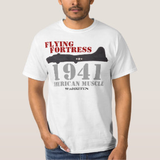 Flying Fortress-muscle T Shirt