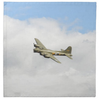 Flying Fortress Printed Napkins