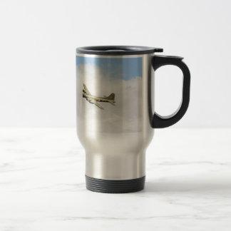 Flying Fortress Stainless Steel Travel Mug