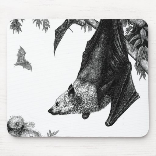 Flying Foxes Mousepad