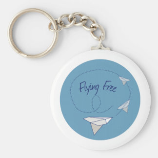 Flying Free Keychain