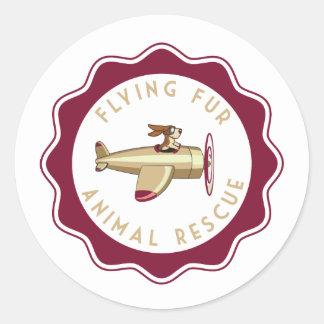 Flying Fur - Dog Pilot Sticker