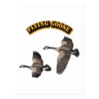 Flying Goose Postcard