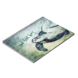 Flying Green Sea Turtles | Notebook