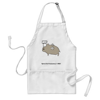 Flying Hamster Chef Aprons